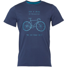 Triple2 Laag Bike T-Shirt Herrer T-Shirt Men blå